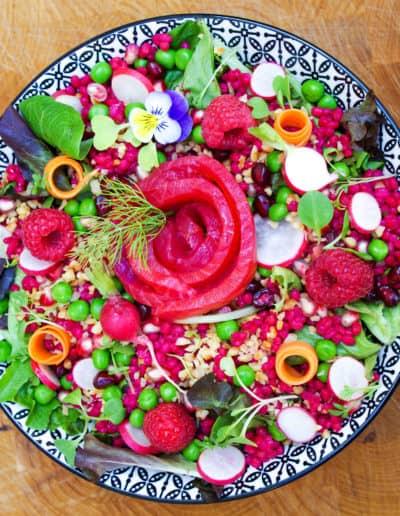 salade en fête